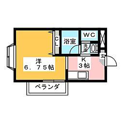 サンジミニャーノ[1階]の間取り
