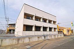 埼玉県東松山市砂田町の賃貸アパートの外観