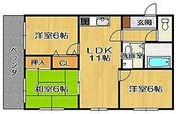マツヤビル2[4階]の間取り
