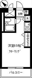 ライオンズマンション学芸大学第3[208号室]の間取り