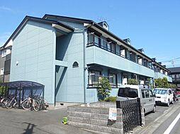 神奈川県川崎市中原区木月祗園町の賃貸アパートの外観