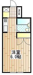 エストディオ町田[1階]の間取り