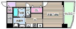ノインツェーンエルフ[4階]の間取り