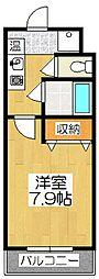 メディナ東寺[3階]の間取り
