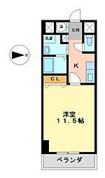 CASSIA錦本町通(旧スタジオスクエア錦)[12階]の間取り