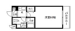 メゾンエトワル[3階]の間取り