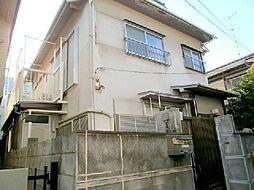 東京都大田区山王4丁目の賃貸アパートの外観
