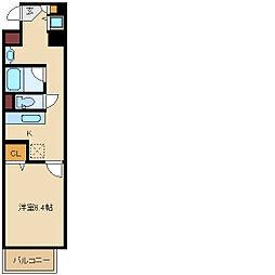 コンフォールメゾン[2階]の間取り
