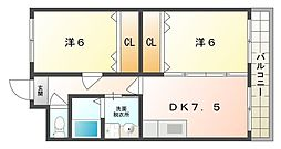 グランルーク[3階]の間取り