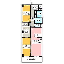 仮)D-room東静岡[5階]の間取り