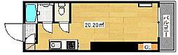 ラッキープラザ初台[202号室号室]の間取り