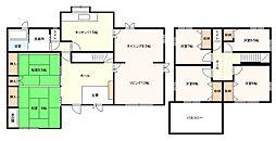 [一戸建] 神奈川県厚木市緑ケ丘1丁目 の賃貸【/】の間取り
