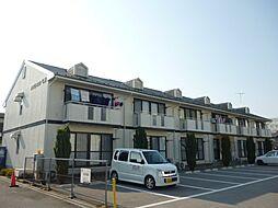 滋賀県東近江市東沖野5丁目の賃貸アパートの外観