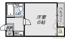 ハイツマツモトI[4階]の間取り