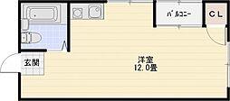 ハイツエイト[3階]の間取り