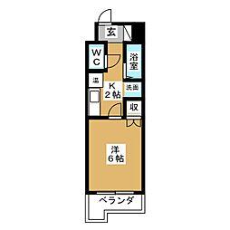 SSビル[4階]の間取り