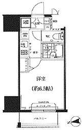 スパシエ八王子クレストタワー[604号室]の間取り