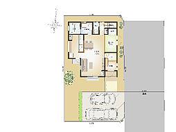 建物配置図例(...