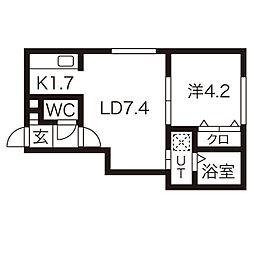 南郷18丁目駅 4.2万円
