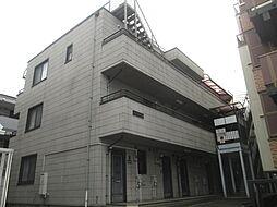 東京都世田谷区上用賀6丁目の賃貸マンションの外観