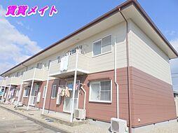 三重県四日市市羽津町の賃貸アパートの外観