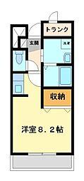 神奈川県川崎市宮前区神木本町4丁目の賃貸マンションの間取り