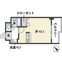 エスタシオン博多[3階]の間取り