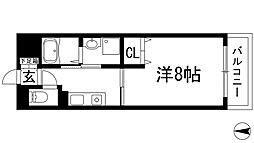 アルデール満寿美[2階]の間取り