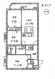 三宅町新築マンション[3階]の間取り