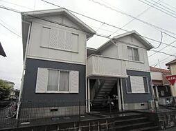 千葉県流山市三輪野山1丁目の賃貸アパートの外観