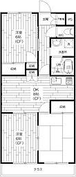 善福寺ユキハイツ[1階]の間取り