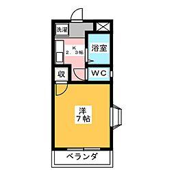 APEX I[2階]の間取り