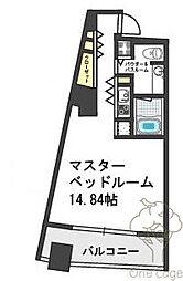 ザ・タワー大阪レジデンス[5階]の間取り