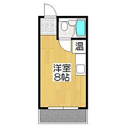 東海ハウス[102号室]の間取り