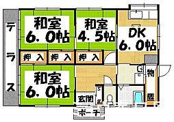 [一戸建] 福岡県筑紫野市塔原東2丁目 の賃貸【/】の間取り