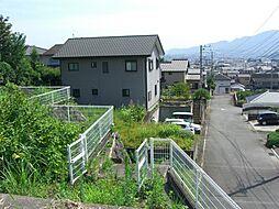敷地への階段