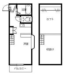 浦上車庫駅 3.6万円