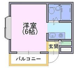 ツインボックス[1階]の間取り