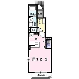 サン・リヴェール[1階]の間取り