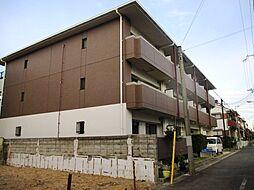 兵庫県尼崎市稲葉荘2丁目の賃貸マンションの外観
