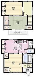 [一戸建] 神奈川県横浜市金沢区野島町 の賃貸【/】の間取り