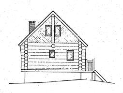 立面図(北側)