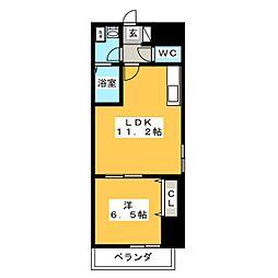 コルディエラ[2階]の間取り