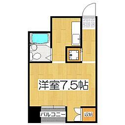 オンジェームK[305号室]の間取り