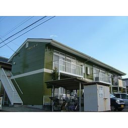 静岡県藤枝市高岡の賃貸アパートの外観