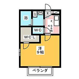 Vivre SAKAE[1階]の間取り