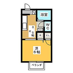 シャイニングスター[2階]の間取り