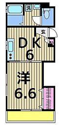 仮)千住宮元町レジデンス[202号室]の間取り