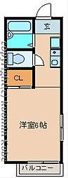 ラミアカーサ[2階]の間取り