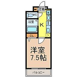 BASIC2000(ベーシック2000)[3階]の間取り